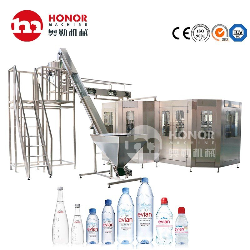 10000bph Automatic Drinking Water Mineral Water Pet Bottle Filling Machine