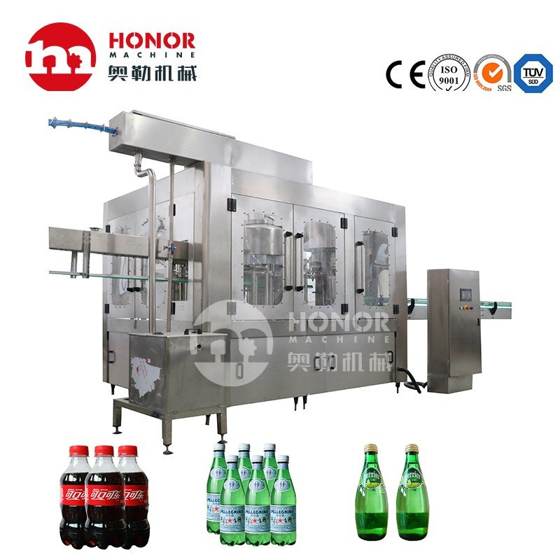 1000-10000bph Carbonated Drink Soft Drink Filling Machine with Good Price